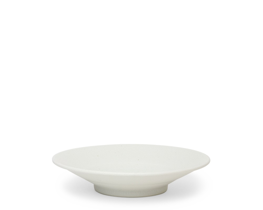 "White Sky 7.75"" Shallow Bowl"