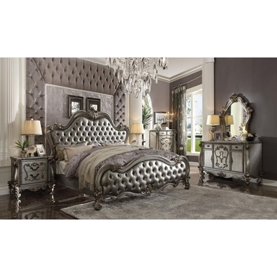 26843 SILVER NIGHTSTAND