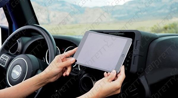 Car Pretty LLC - Tablet Dash Kits - Apple i Pad Mini and