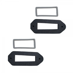 Back Up Light Lens and Bezel Gasket
