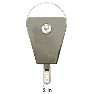 "2"" Single Fixed Pulley"