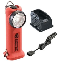 Streamlight Survivor Firefighter's Right Angle Light, Rechargeable - 12 Volt Car Charger