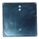 HEATER HOUSING COVER: HT-1 PLASTIC ABS BLACK