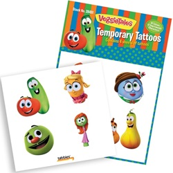 VeggieTales® Temporary Tattoos
