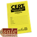 CERT FORMS BOOK - Tag Cover