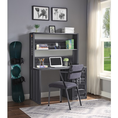 37897 Cargo Writing Desk with Hutch