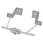 Grill Bar Mounting Brackets