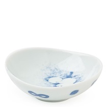 "Mayu Moon & Rabbit 3"" X 3.25"" Sauce Dish"