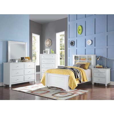 30410T MALLOWSEA WHITE TWIN BED