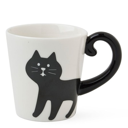 Cat Tail Mug - Black