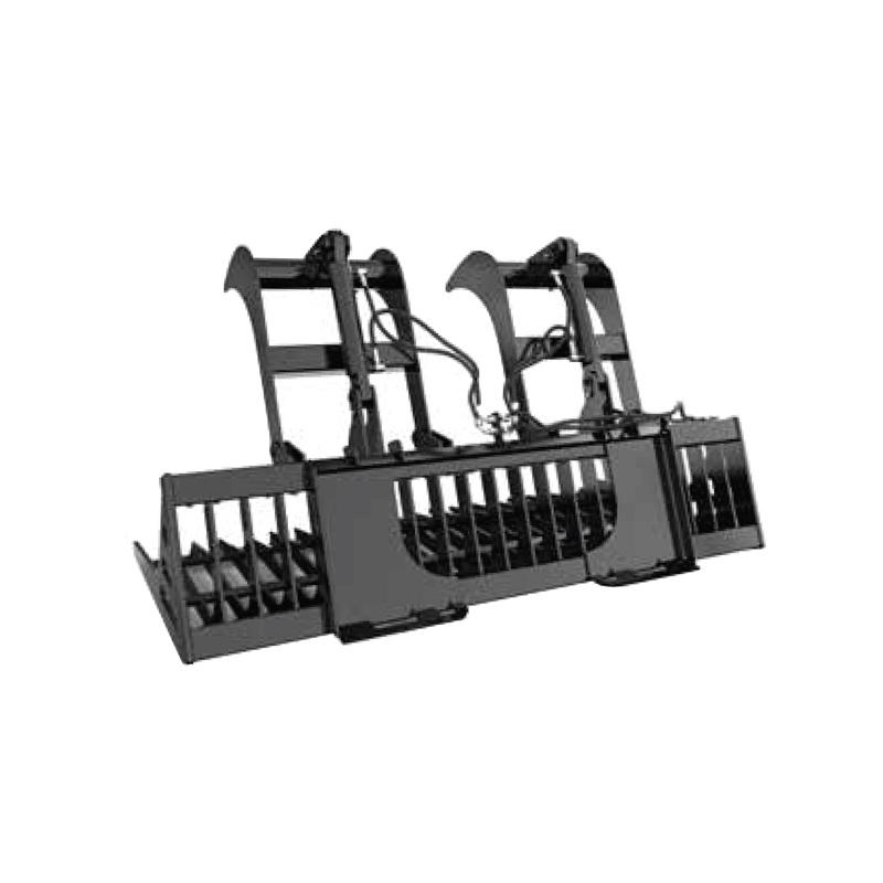 Braber Equipment - Skid Steer Grapple Bucket