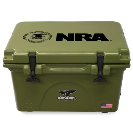 NRA Green 26qt ORCA Cooler