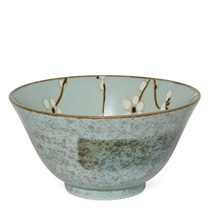 "Spring Blossoms 5.25"" Flared Bowl"