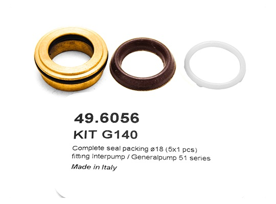 Veloci Replacement Pump Kit for GP Kit 140