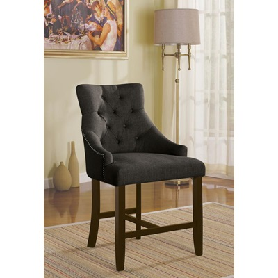 59197 GRAY COUNTER HEIGHT CHAIR
