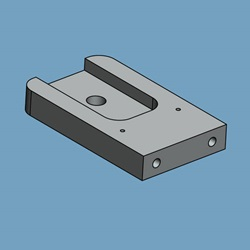 Extraction Electrode Mounting Bracket