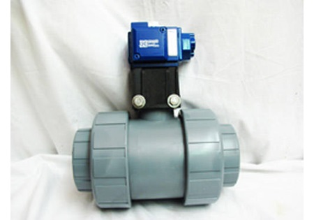 "3"" Union Ball Valve with Acuator and Solenoid"