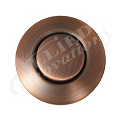 AIR BUTTON TRIM: #15 CLASSIC TOUCH, ANTIQUE COPPER LONG