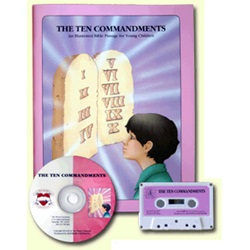 Thy Word - 10 Commandments - KJV - 1 Book w/CD