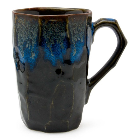 Boulder Tall Mug - Black & Blue