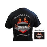Steele Flame Logo T-Shirt