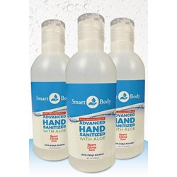 99008 8 OZ SMART BODY GEL HAND SANITIZER, 24/CS