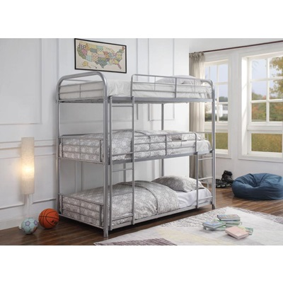 38100 CAIRO, SILVER BUNK BED