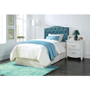 39127Q BLUE QUEEN HEADBOARD