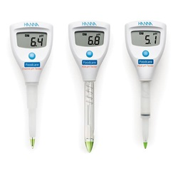 Foodcare Cheese, Milk and  Meat pH Testers (Hanna Instruments)