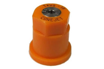 ConeJet TeeJet TX-VS18 - Orange VisiFlo Hollow Cone Stainless Steel Nozzle