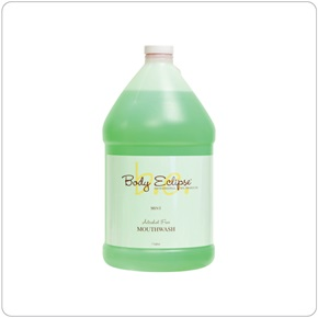 Body Eclipse Spa Mint Mouthwash, Alcohol Free, Bulk