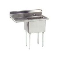 Advance Tabco FE-1-1812-18L-X Stainless Steel Fabricated Sink