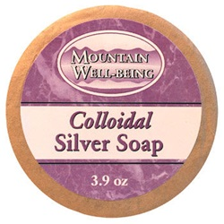 Colloidal Silver Soap (3.9 oz)