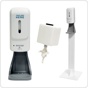Re-fillable Touch-less Hand Sanitizer Dispenser