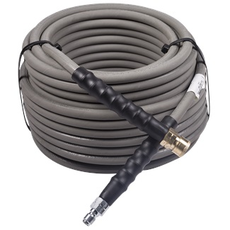 "100ft 4000 PSI 3/8"" Non Marking Rubber Hose"