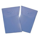 PVC Pony Floor Mats  (Blue)
