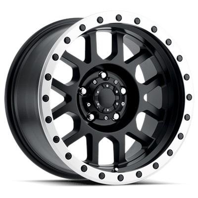 REV Off Road 883 Series Beadlock 20x9 5x127 - Matte Black