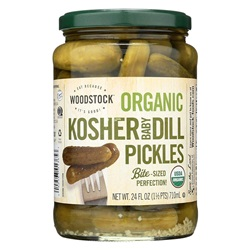 PICKLES DILL KOSHER OG