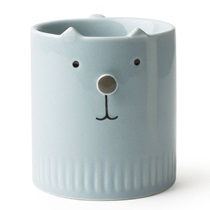 Neko No Hana Blue Cat Mug 8 Oz.