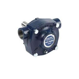 Cast Iron 200 PSI Solid Shaft CW Reverse Rotation Pump