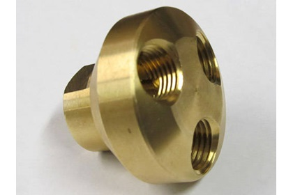 "Telone Brass 1/4"" FPT 3-Way Manifold"