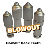 Borzall Rock Teeth