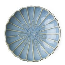 "Kiku 4.5"" Small Plate - Light Blue"