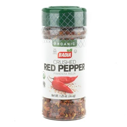 Red Pepper, Crushed (Organic) - 1.25oz