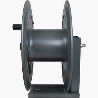 Heavy Duty Single Arm Mount Hose Reel With Hand Crank