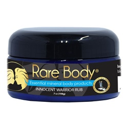 Rare Body® Innocent Warrior Rub (7 oz)