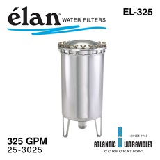 élan™ EL-325: Stainless Steel Filter Housing, up to 325 GPM