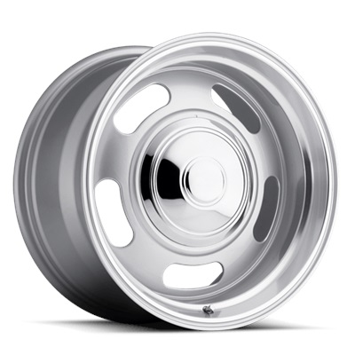 107 Classic Series Rally 20x905 5x120.7/5x127 - Silver Ring