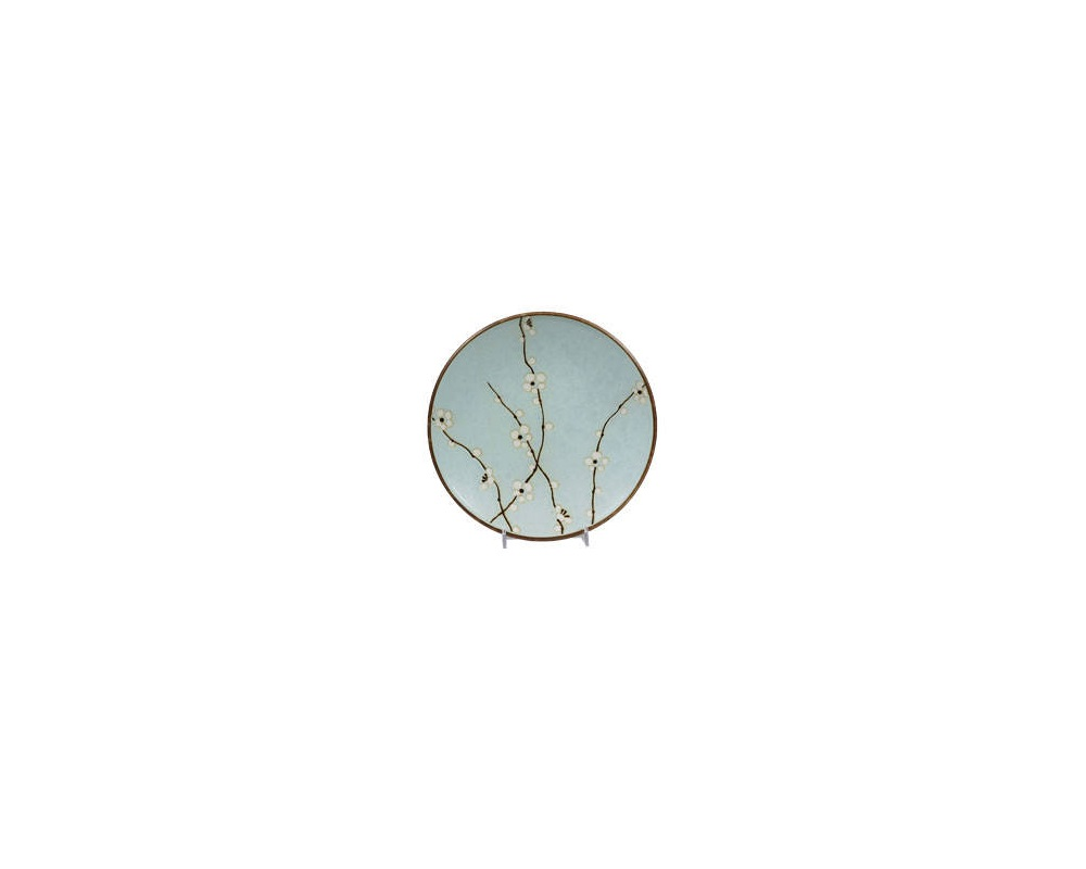 "Spring Blossoms 9"" Round Plate"