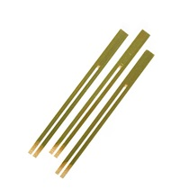 Bamboo Fruit Forks 5""